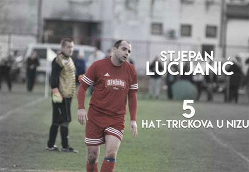 Cầu thủ Croatia lập kỷ lục thế giới bằng năm cú hat-trick liên tiếp