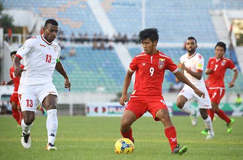 Myanmar thua đậm trước khi đấu Việt Nam