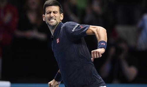 Djokovic thắng trận ra quân tại ATP World Tour Finals