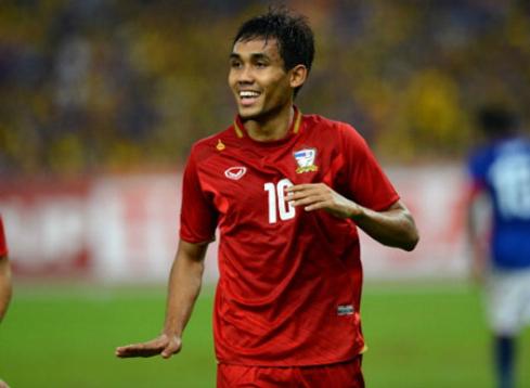 Thái Lan đem đội ngũ dự vòng loại World Cup đi chinh phục AFF Cup