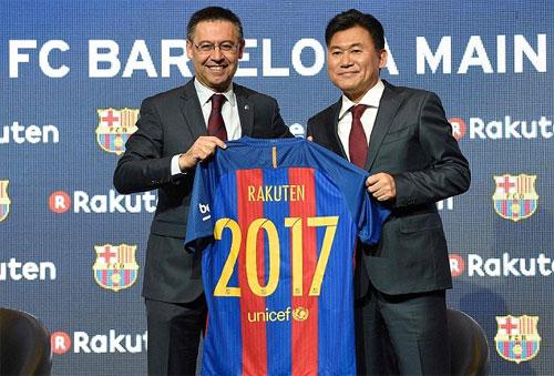 Công ty Nhật Bản đổ 250 triệu đôla vào Barca