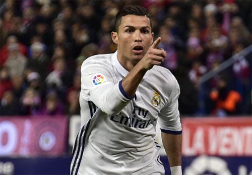 Ronaldo lập hat-trick, Real đại thắng Atletico