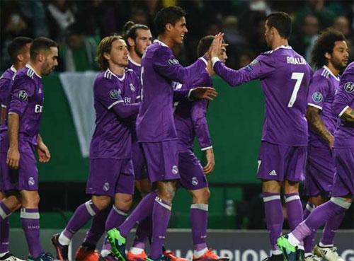 Real giành vé đi tiếp, loại đội cũ của Ronaldo khỏi Champions League