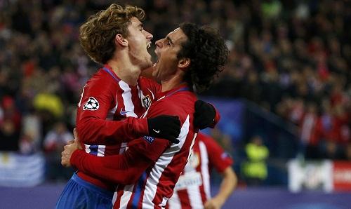 Atletico chắc suất nhất bảng nhờ thắng lợi thứ năm liên tiếp