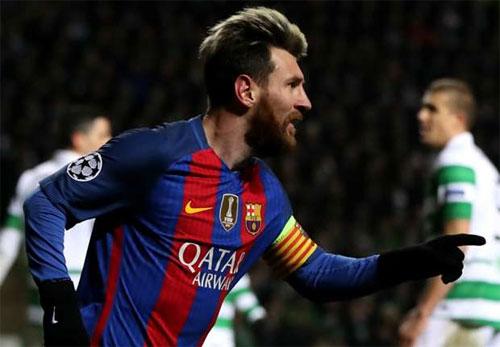 Messi lập cú đúp, Barca giành vé đi tiếp tại Champions League