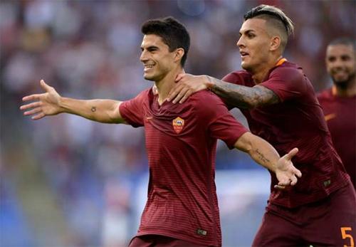 Siêu phẩm Rabona góp công đưa Roma đi tiếp tại Europa League