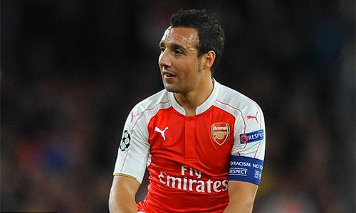 Arsenal có thể mất Santi Cazorla tới ba tháng