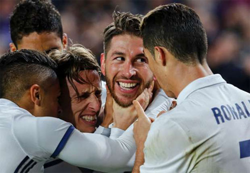 """Modric: """"Bàn gỡ ở phút 90 đem lại cảm giác như chiến thắng"""""""