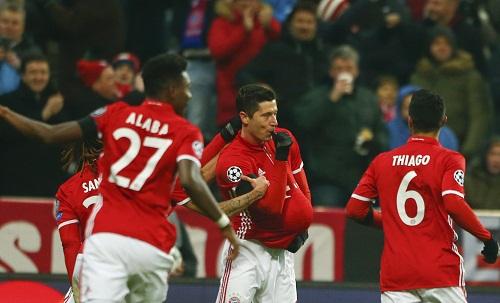 Bayern cắt chuỗi trận thắng của Atletico Madrid