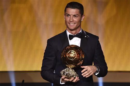 Ronaldo vắng mặt trong lễ công bố Quả Bóng Vàng