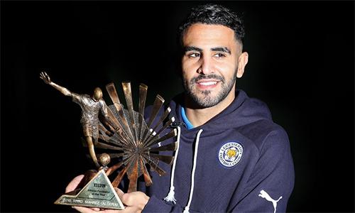 Riyad Mahrez nhận giải Cầu thủ châu Phi hay nhất năm 2016