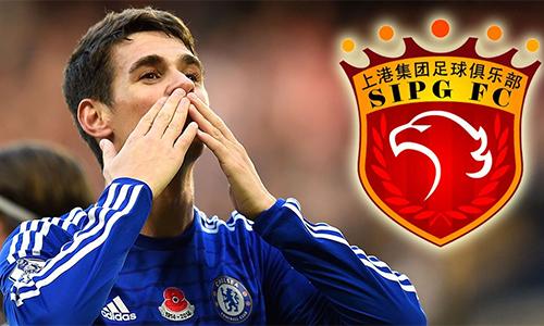 Chelsea đồng ý bán Oscar sang Trung Quốc với giá 76 triệu đôla