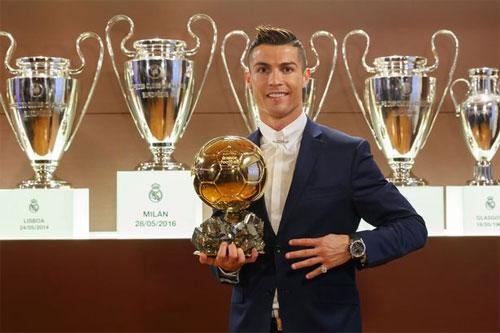 """Ronaldo: """"Nếu chơi cùng đội, tôi sẽ đoạt nhiều Quả Bóng Vàng hơn Messi"""""""