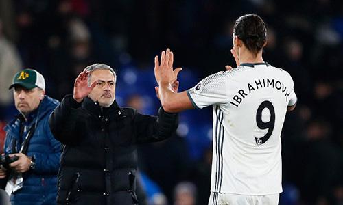 """Mourinho: """"Tôi phải tìm cách cho Ibrahimovic có thời gian nghỉ ngơi"""""""