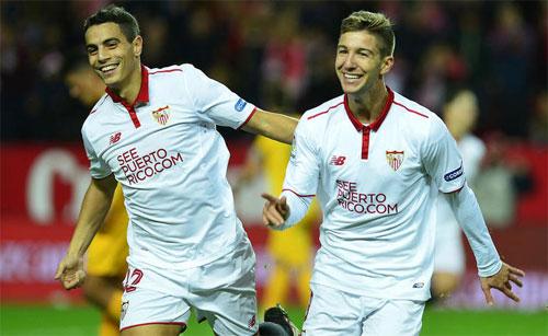 Sevilla vượt qua Barca tại La Liga