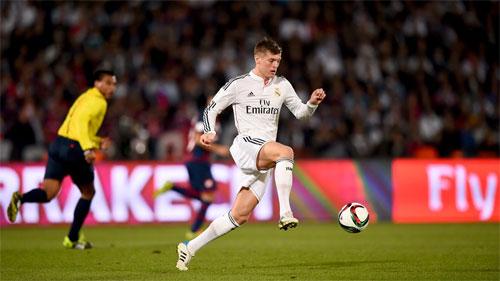Kroos vô địch tại Real về số lần giành các giải World Cup