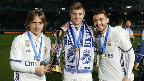 Real đoạt nhiều danh hiệu hơn số trận thua trong năm 2016