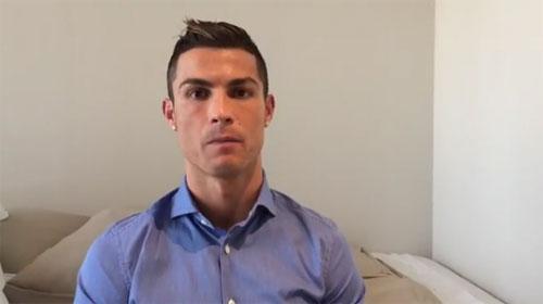 Ronaldo động viên trẻ em Syria nhân dịp Giáng sinh