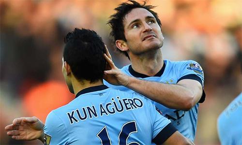 Lampard tiết lộ về thói vô kỷ luật của Aguero
