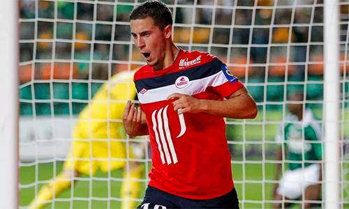 Hazard bị tố còn say rượu khi lập hat-trick ở trận chia tay Lille