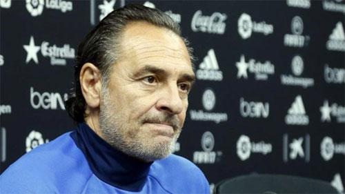 Cựu HLV tuyển Italy thôi việc ở La Liga chỉ sau ba tháng