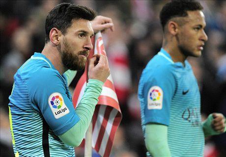 Barca nếm mùi thất bại ngay trong trận đầu năm