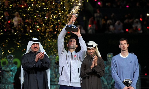 Djokovic cắt đứt mạch thắng của Murray, vô địch Qatar Mở rộng