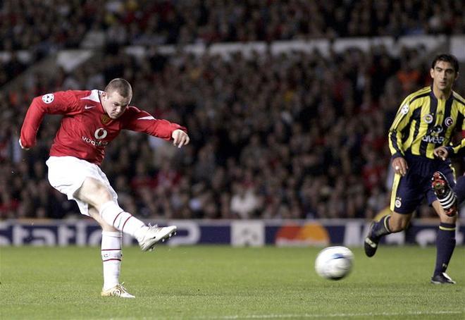 Những bàn thắng đẹp nhất của Rooney tại Man Utd - ảnh thể thao
