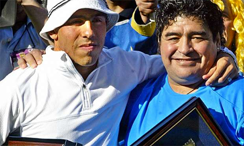 Maradona: Nếu được trả lương cao như Tevez, tôi cũng đến Trung Quốc - ảnh 1