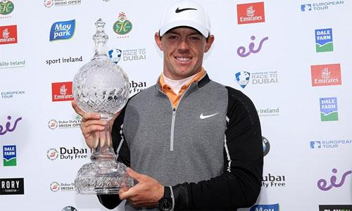 McIlroy đoạt giải Cú đánh đẹp nhất năm của European Tour