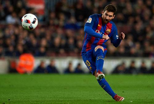 Messi ghi bàn quyết định, Barca vào tứ kết Cup Nhà vua