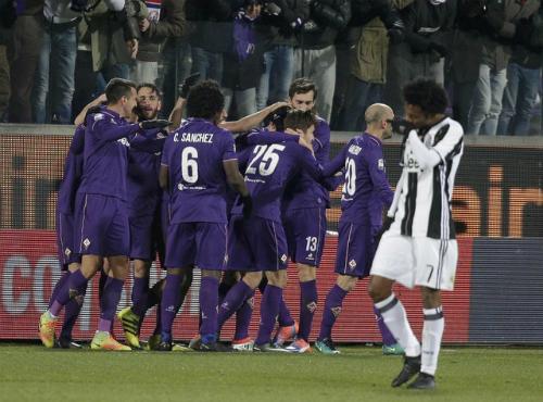 Juventus thất bại trước Fiorentina