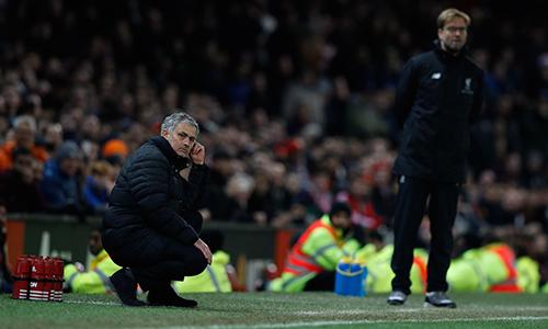 """Mourinho: """"Man Utd tấn công, còn Liverpool phòng ngự"""""""