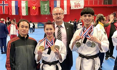 taekwondo-viet-nam-gianh-bon-hc-vang-tren-dat-phap