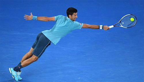 Djokovic thắng trắng ba set ở vòng một Australia Mở rộng