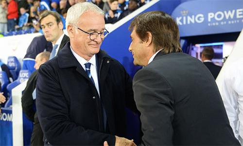 Ranieri mong Conte cùng Chelsea vô địch Ngoại hạng Anh mùa này