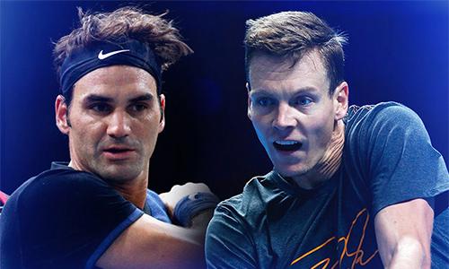 Federer - Berdych: Khúc cua đầu tiên của Tàu tốc hành - ảnh 1