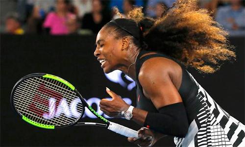 Serena thẳng tiến vào vòng ba Australia Mở rộng