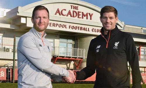 Gerrard trở lại Liverpool làm HLV đội trẻ