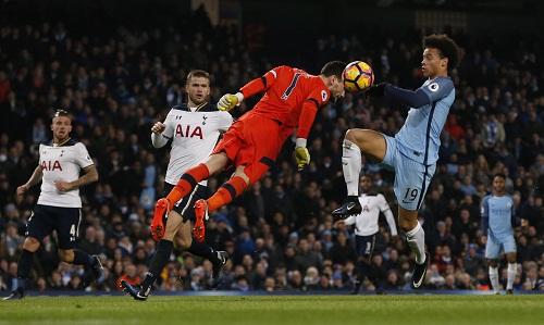 Man City đánh rơi chiến thắng trước Tottenham dù dẫn hai bàn