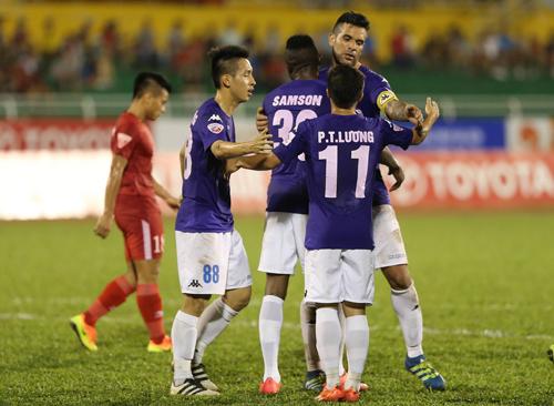 Video: TP Hồ Chí Minh vs Hà Nội