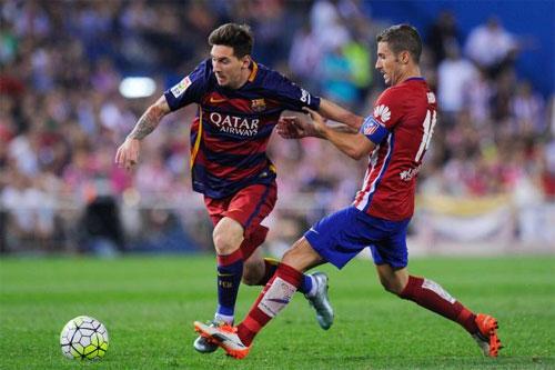 Barca chạm trán Atletico ở bán kết Cup Nhà vua