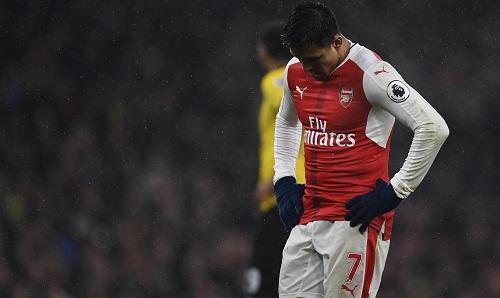 Arsenal thua Watford, mất vị trí nhì bảng