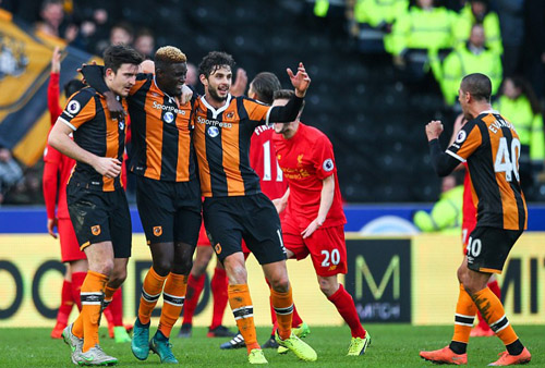 Liverpool thua đội đứng cuối bảng điểm Ngoại hạng Anh