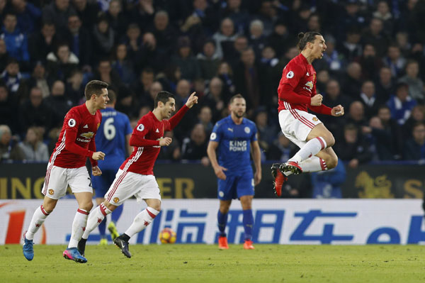 Man Utd đè bẹp Leicester, tiến gần top bốn