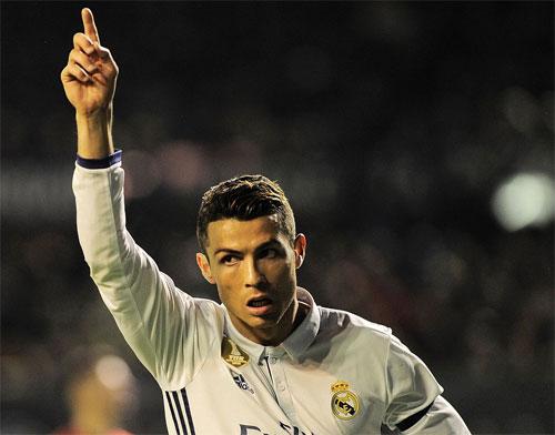 Ronaldo lập công, Real đòi lại vị trí dẫn đầu từ tay Barca