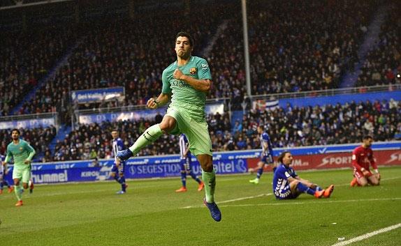 Ghi bốn bàn trong chín phút, Barca thắng với tỷ số quần vợt