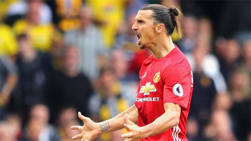 "Ibrahimovic: ""Man Utd đủ sức đoạt cú ăn ba"""