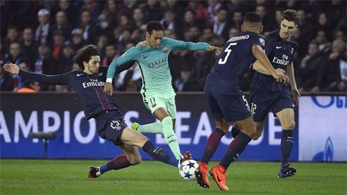 PSG thắng Barca với tỷ số 4-0 ở lượt đi Champions League