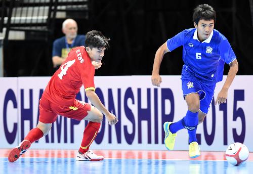 Việt Nam chung bảng Thái Lan tại giải futsal Đông Nam 2017